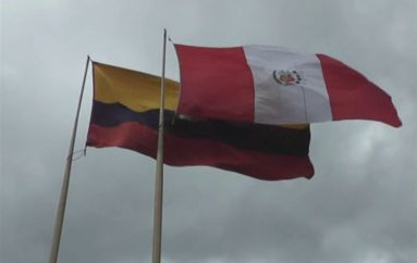 (Video) En Loja se izó la bandera del Perú por los 195 años de independencia.