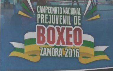 (ZAMORA) Ultima detalles para el Campeonato Nacional de Box