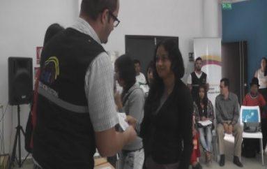 (ZAMORA) CNE y CONADIS clausuran Escuela de Líderes para Personas con Discapacidad