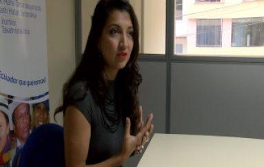 (ZAMORA) Tania Pauker, Consejera de CPCCS visita Zamora
