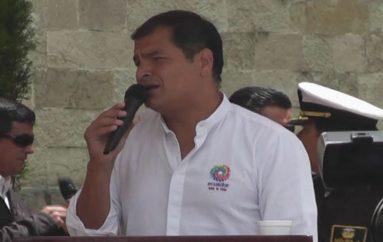 (Video)  Presidente Rafael Correa no vendrá a Loja Vicepresidete realizará enlace ciudadano mañana