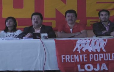 (Video) UNE analizará mañana en Quito posible disolución de esta organización social