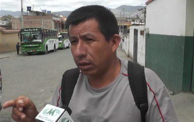 (Video) Morador de Chaquircuña pide al Gobierno Local desalojar material que cayó sobre su terreno