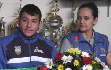 (Video) Autoridades elogiaron a medallista panamericano tras conseguir medalla de bronce para Ecuador.