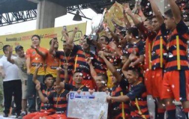 """(ZAMORA) Barcelona FC (IÑACO) campeón del Torneo de Fútbol """"El Minero 2016"""""""