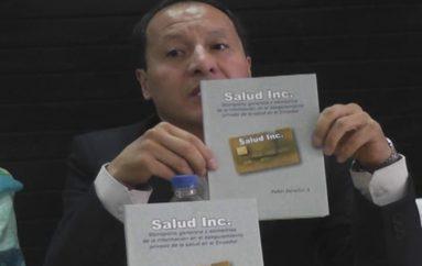 (Video) Pablo Dávalos presenta libro sobre la industria de la salud prepagada en el Ecuador.