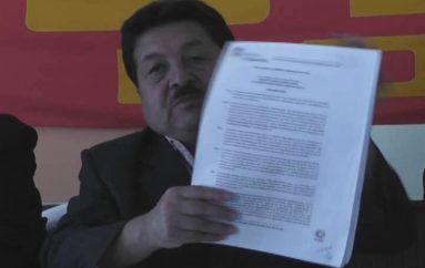 """(Video) """"Se agotarán todas las instancias legales frente a la resolución de disolución de la UNE"""", sostuvo Gilbert Granda, presidente provincial."""