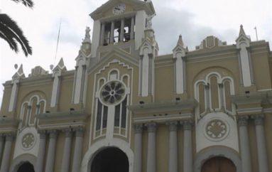 (Video) Alistan preparativos para la llegada de la virgen de El Cisne a la ciudad de Loja.