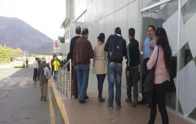 (Video) Vuelo Loja – Quito fue suspendido por fuertes vientos