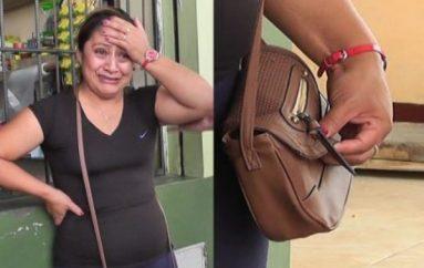 (Video) Delincuentes hurtan $550.00 a comerciante en Catamayo