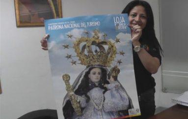(Video) Coordinación Regional 7 de Turismo entregará mañana estampas y afiches de la virgen de El Cisne.