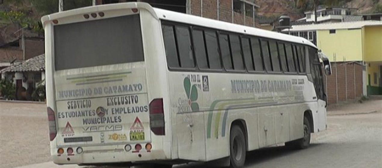 (Video) Bus municipal ya no transportará a los estudiantes universitarios de Catamayo a Loja.