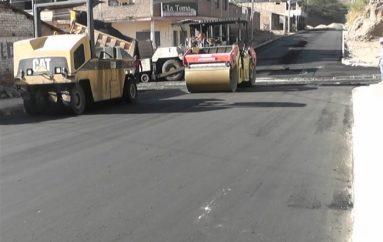 (Video) Iniciaron trabajos de asfaltado en las calles del barrio Nueva Esperanza