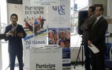 (Video) CPCCS, implementa oficina móvil para receptar denuncias de los ciudadanos