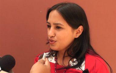 (Video) Andrea Benavides: El haber sido considerada pre-candidata es un voto de consideración