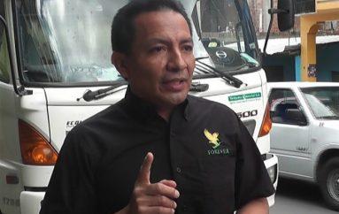 (Video) Autoridades de Catamayo y estudiantes se reunieron este lunes con directivos de la ANT