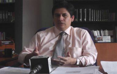 (Video)  Galo Ortega, denuncia presunto  tráfico de influencias en la Función Judicial de Loja.