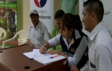 (VIDEO) Firman convenio para atender conflicto fauna silvestre.