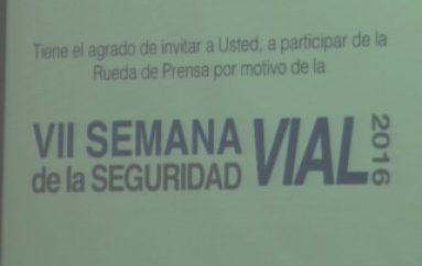 (VIDEO) Realizarán varias Actividades por la VII Semana de Seguridad Vial.