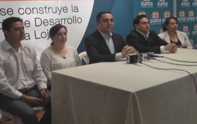 (Video)  Juan Carlos Ríos desiste su candidatura Asambleísta por Suma y respalda la alianza con CREO.
