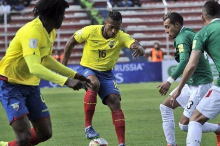 Ecuador empató 2-2 con Bolivia con doblete de Enner Valencia en La Paz por la eliminatoria a Rusia