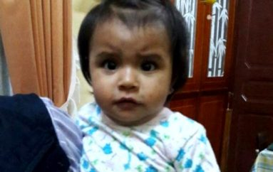 (Video) Dinapen busca a familiares de menor de edad que presuntamente fue abandonada
