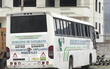 (Video) No han tenido efecto las gestiones para que bus municipal transporte a universitarios