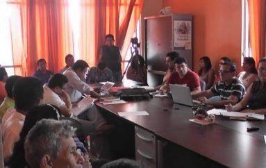 (Video) Concejales, funcionarios y ciudadanos socializan proyecto de costo de producción de agua potable.