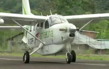 (VIDEO) ECORAE y TAME AMAZONÍA prolongan servicio del Transporte Aéreo Económico.