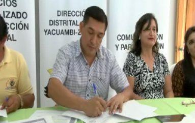 (VIDEO) MIES dona bienes a sectores prioritarios en Zamora