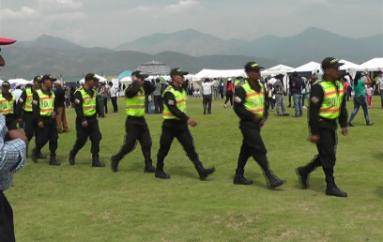 (Video) Policía desplegó importante operativo tras visita de Presidente Correa en Catamayo
