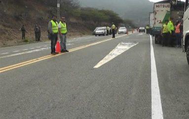(Vídeo) Operativo Pionero 3 se desarrollo en las vías Catamayo-Loja y Catamayo-San Pedro.