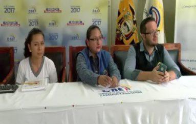 """(VIDEO) En Zamora Chinchipe inicia campaña """"Yo decido mi voto, mi voz"""""""