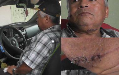 (Video) Por evitar que le roben casi le cuesta la vida a conductor en Catamayo