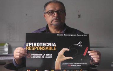 (Video) Estudiantes de escuelas y colegios conocerán sobre los peligros de la pirotecnia.