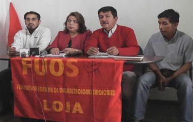 (Video) Sectores sociales de Loja realizarán mañana plantón en  solidaridad con el pueblo Shuar.