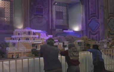(Video)  Más de 10 mil personas hasta la fecha   han visitado el pesebre monumental  en la iglesia La Catedral.