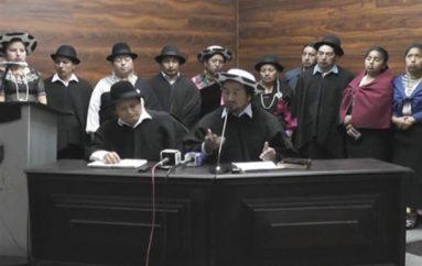 (Video) Pueblos Originarios  del Sur se manifiestan contra la violencia generada en Morona Santiago.