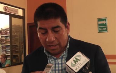 (Video) Presidente de comité pro mejoras de El Tambo rechaza designación de Tenienta Política