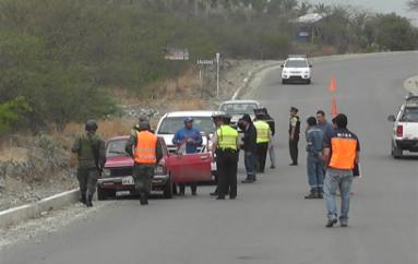 (Video) Operativo pionero siete se cumplió en la vía Catamayo-Gonzanamá