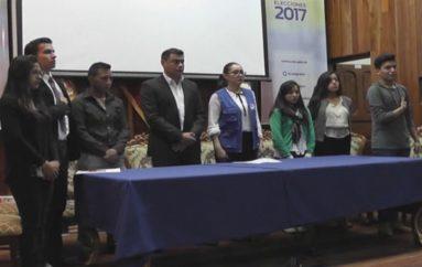 (Video) Organizaciones políticas y candidatos se comprometen al  cuidado del ambiente durante periodo electoral.