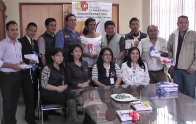 (Video) Distrito de salud 11D-02 realizó reconocimiento de trabajo de periodistas