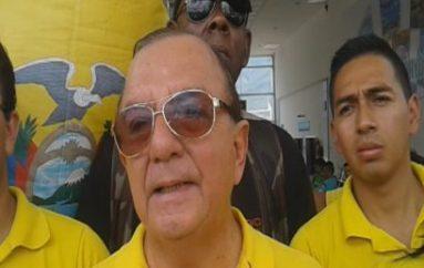 (Video) Álvaro Noboa opinó sobre presuntos actos de corrupción en organizaciones políticas