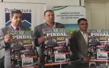 (Video) Pindal, con programación lista para carnaval.