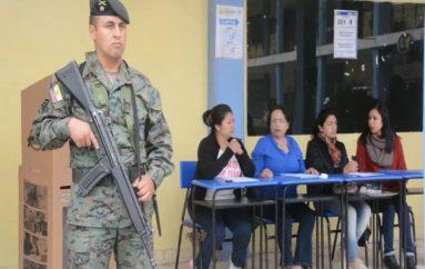 (Video) Presentan plan de contingencia que se aplicará el día de las elecciones.