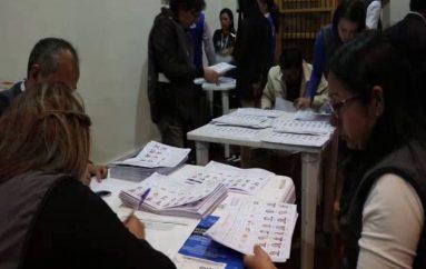 (Video)  Escrutinio del 100% de actas de todas las dignidades  concluyó con éxito en Loja.