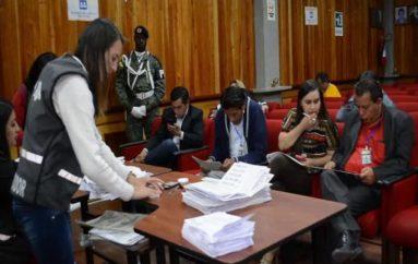 (Video) Hasta mañana Junta Provincial Electoral de Loja espera culminar con el escrutinio de actas de todas las dignidades