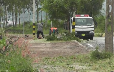 (Video) Municipio de Catamayo realizó trabajos de adecentamiento en ciclovía que presentaba mal estado.
