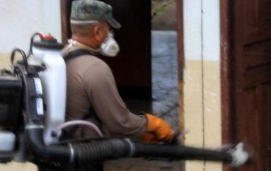 (Video) Control vectorial del Distrito de Salud realizó fumigación en instalaciones de Unidad Militar.