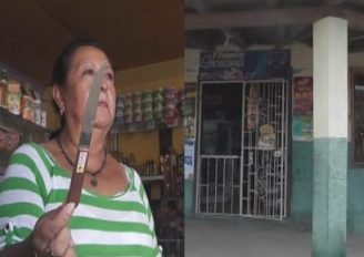 (Video) Delincuentes se llevan $700.00 y dejan arma blanca, en propiedad de Catamayo